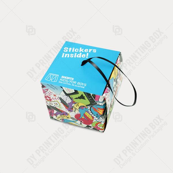 Carton Double Wall-Full Colour Print Box-Blue