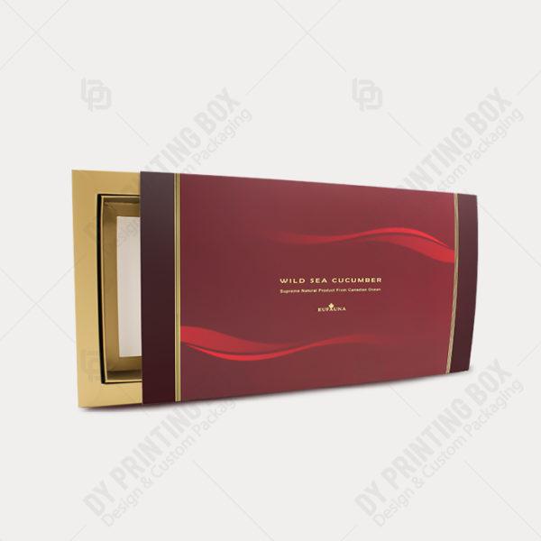 Carton Tray & Sleeve Box w/ Golden Foil