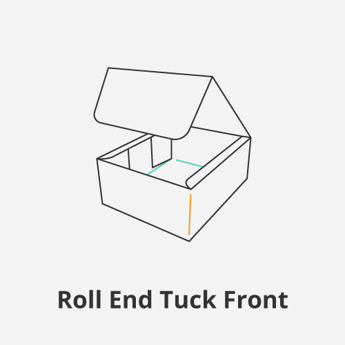 Roll End Tuck Front