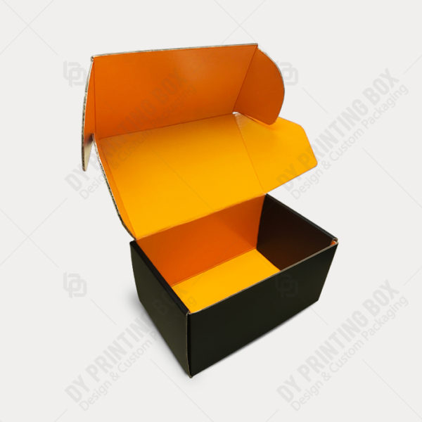 Custom Double sided -Printed Mailer Box-Open View
