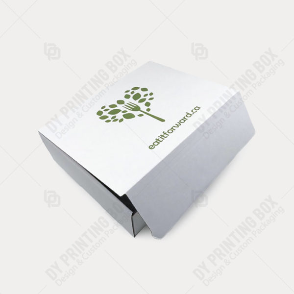 Logo imprinted Corrugated-Shipping-Box
