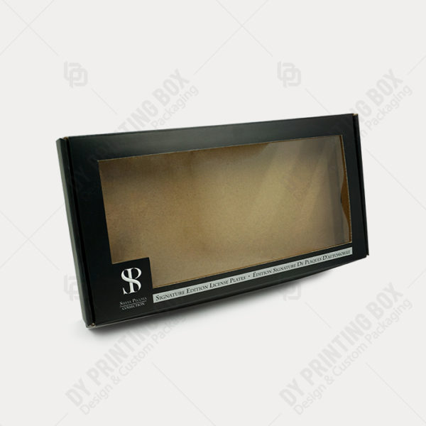 Corrugated Box with Window Patch