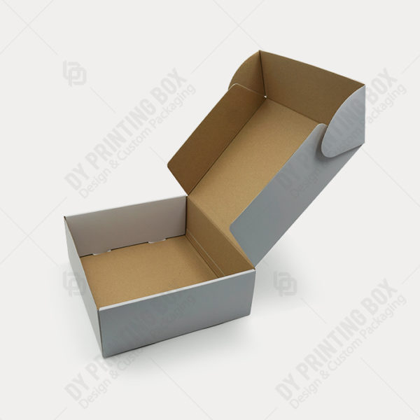 Printed Gray Corrugated Box-Open-DY Printing Box