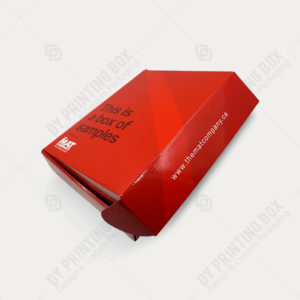 Custom Mailer Box with Glossy Lamination-DY Printing Box