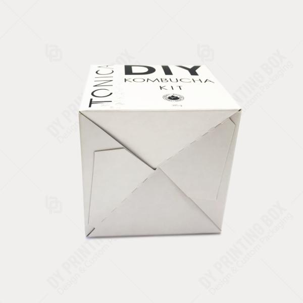 DY Printing Box Auto lock bottom
